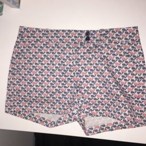 Vineyard vines red white and blue shorts